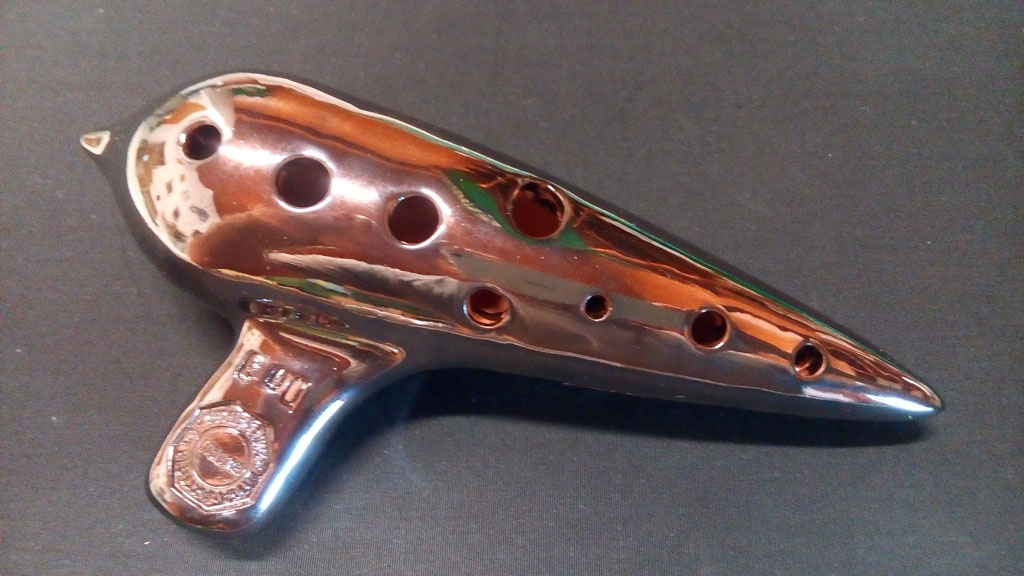 ocarina do3 rossa